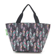 Eco-Chic - Insulated Lunch Bag Feather Black