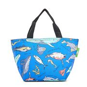 Eco-Chic - Insulated Lunch Bag Blue Sea Creatures