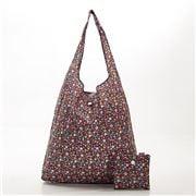 Eco-Chic - Foldaway Shopper Black Ditsy