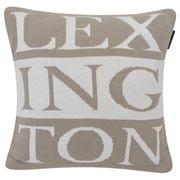Lexington - Knitted Sham Beige/White 50x50cm