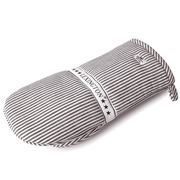Lexington - Oxford Striped Oven Mitt Dark Gray