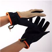 Treadstone - Stretch Fit Garden Glove Beige/Blue Large