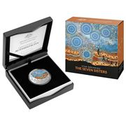 RA Mint - 2020 Seven Sisters $1 Coloured Silver Uncir. Coin
