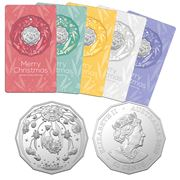 RA Mint - 2020 50cent Uncirculated Coin Christmas Decoration