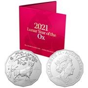 RA Mint - 2021 Lunar Year of the Ox 50c Uncirculated Coin