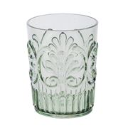Flair Decor - Acrylic Tumbler Scollop Sage Green
