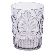Flair Decor - Acrylic Tumbler Scollop Grey