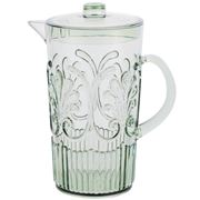 Flair Decor - Acrylic Scollop Des Pitcher Sage Green