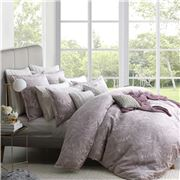 Private Collection - Sunbury Quilt Cover Set King Dusk 3pce