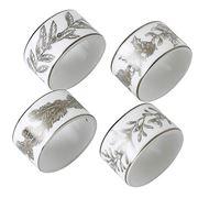 Wedgwood - Christmas Winterwhite Napkin Rings Set Of 4