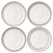 Royal Doulton - Ellen Degeneres Christmas Plate Set 4pc