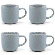 S & P - Hana Mug Set Light Blue 380ml 4pce