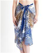 DLUX - Palm Cotton Print Scarf