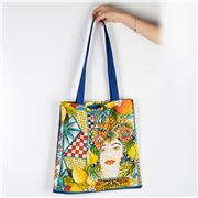 Baci Milano - Cotton Bag Sicily Blue