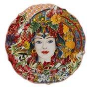 Baci Milano - Serving Plate Porcelain Coral 35cm