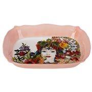 Baci Milano - Porcelain Roaster Medium Coral