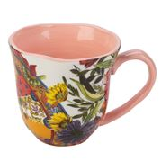 Baci Milano - Coral Porcelain Mug