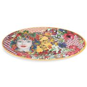 Baci Milano - Serving Plate Oval Coral