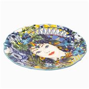 Baci Milano - Serving Plate Porcelain Ocean 35cm