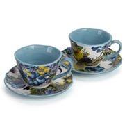 Baci Milano - Ocean Porcelain Coffee Cups Set 2pce