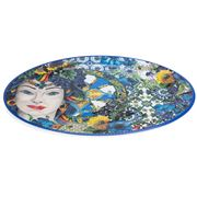 Baci Milano - Serving Plate Oval Ocean