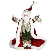 Mark Roberts - Limited Ed. Under The Mistletoe Santa 62cm