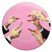Seletti - Toilet Paper Plate Lipstick Pink 27cm