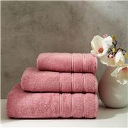 Christy - Antalya Turkish Cotton Hand Towel D/Rose 75x49cm