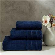 Christy - Antalya Turkish Cotton Hand Towel Denim 75x49cm
