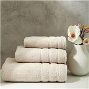 Christy - Antalya Turkish Cotton Hand Towel Oatmeal 75x49cm