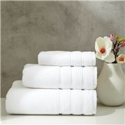 Christy - Antalya Turkish Cotton Hand Towel White 75x49cm