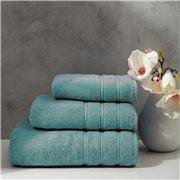 Christy - Antalya Turkish Cotton Bath Towel Jade 125x70cm