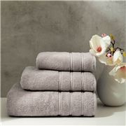 Christy - Antalya Turkish Cotton Bath Towel M/Grey 125x70cm