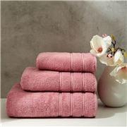 Christy - Antalya Turkish Cotton Bath Sheet D/Rose 150x90cm