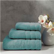 Christy - Antalya Turkish Cotton Bath Sheet Jade 150x90cm