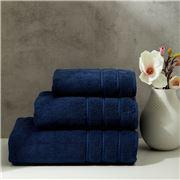 Christy - Antalya Turkish Cotton Bath Sheet Denim 150x90cm