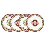 Le Cadeaux - Vischio Appetizer Plate Set 4pce