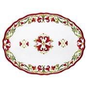 Le Cadeaux - Vischio Oval Platter 41cm