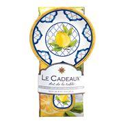 Le Cadeaux - Palermo Spoon Rest & Tea Towel Set 2pce