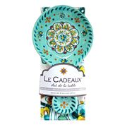 Le Cadeaux - Madrid Spoon Rest & Tea Towel Set 2pce