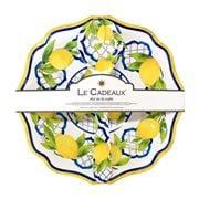 Le Cadeaux - Palermo Salad Bowl & Salad Servers Set 3pce