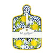 Le Cadeaux - Palermo Cheeseboard w/Cheese Knife Set 2pce