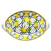 Le Cadeaux - Palermo Two Handled Oval Platter 45cm