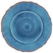 Le Cadeaux - Antiqua Dinner Plate Blue 28cm