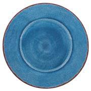 Le Cadeaux - Antiqua Oval Platter Blue 40cm