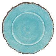 Le Cadeaux - Antiqua Dinner Plate Turquoise 28cm