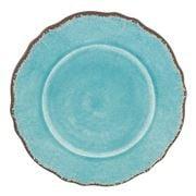 Le Cadeaux - Antiqua Salad Plate Turquoise 23cm