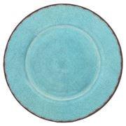 Le Cadeaux - Antiqua Oval Platter Turquoise 40cm