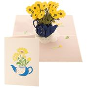 Colorpop - Daisy Vase Medium Card