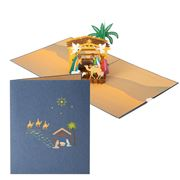 Colorpop - Nativity Scene Large Card